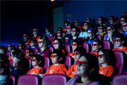 Audience of 4D Theatre